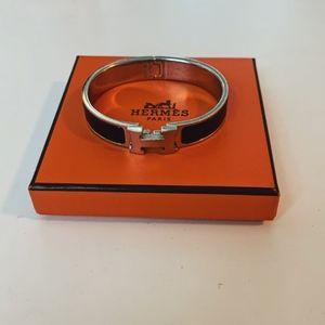 Hermes Black Bracelet